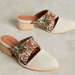 NWT Jeffrey Campbell Tapestry Mules